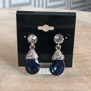 Jewelry - Sapphire Crystal Drop Earrings